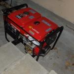 Instalando gerador de energia na CAMI
